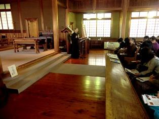 純和風の素敵な礼拝堂でした_4