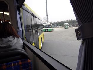 2両連接バス「華連」に体験乗車できました_11