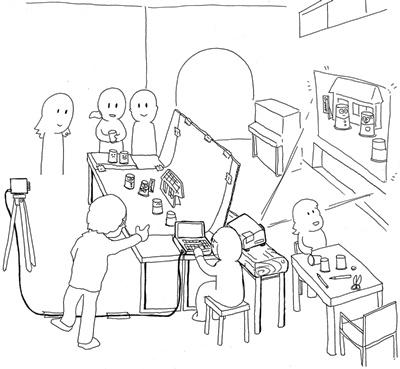 ひとまち大学、アナログアニメ作るってよ_1