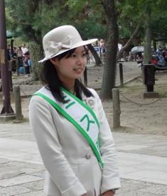 ミス奈良の奈良散歩_3