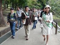 ミス奈良の奈良散歩_5