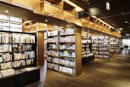 ひとまちの街 奈良蔦屋書店