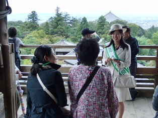 ひとまちレポート ミス奈良 おもてなしの笑顔_4