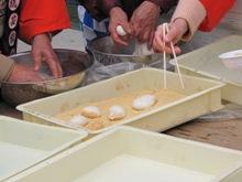 ひとまちレポート お餅つきで日本の伝統文化を体感_12
