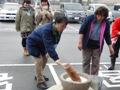 ひとまちレポート お餅つきで日本の伝統文化を体感_16