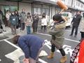 ひとまちレポート お餅つきで日本の伝統文化を体感_17
