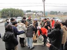 ひとまちレポート お餅つきで日本の伝統文化を体感_9