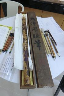歴史ある奈良筆を体験!_5
