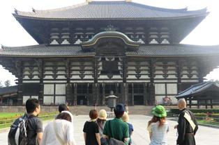 泊まりで授業!奈良の夜、奈良の朝_11