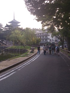 泊まりで授業!奈良の夜、奈良の朝_9