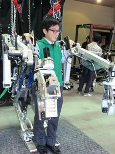 僕らをサポートするロボット装着!授業レポート_3