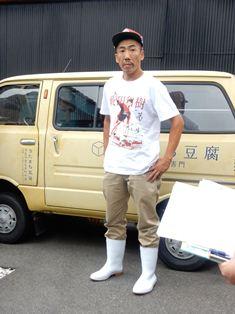 「リヤカーで街を行く豆腐職人」に参加して_7