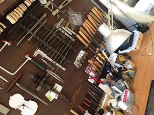 職人の魂伝わるー奈良で唯一の弦楽器工房_1