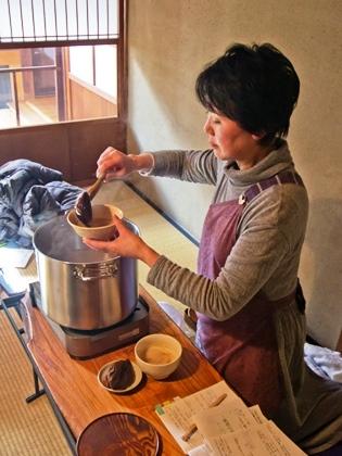 憧れの茶粥_9