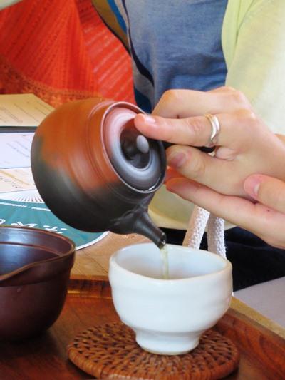 奈良の茶と里山に癒されて