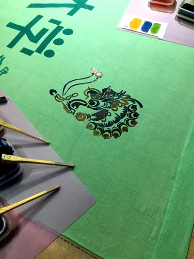 奈良の歴史に「染織」で触れて