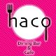 学生特典 「Dining Bar & Cafe haco」